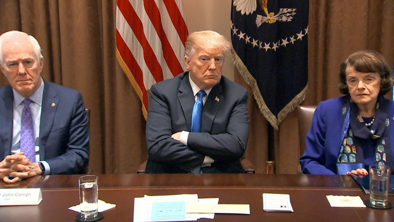 President-Donald-Trump-meets-with-members-of-Congress-to-discuss-school-safety