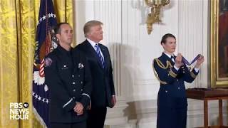 WATCH-President-Trump-holds-Public-Safety-Medal-of-Valor-Awards-Ceremony-at-the-White-House