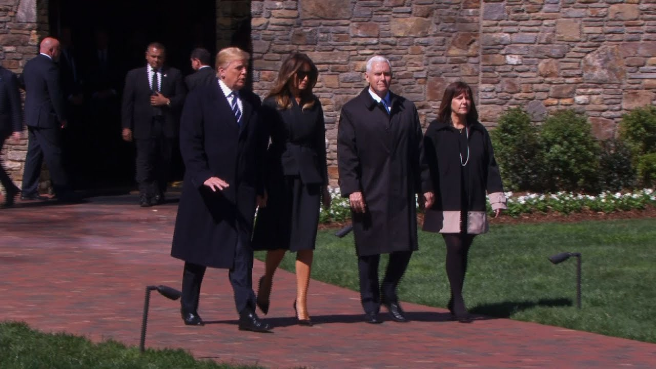 President-Trump-Attends-Funeral-For-Billy-Graham