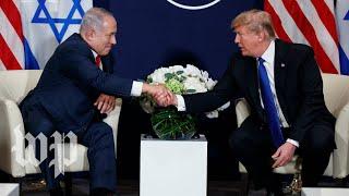 Trump-welcomes-Netanyahu-to-the-White-House