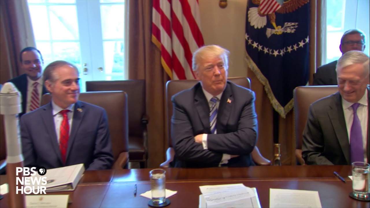 WATCH-President-Trump-holds-cabinet-meeting