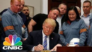 Week-In-Review-President-Donald-Trump-Signs-Steel-And-Aluminum-Tariff-Proclamation