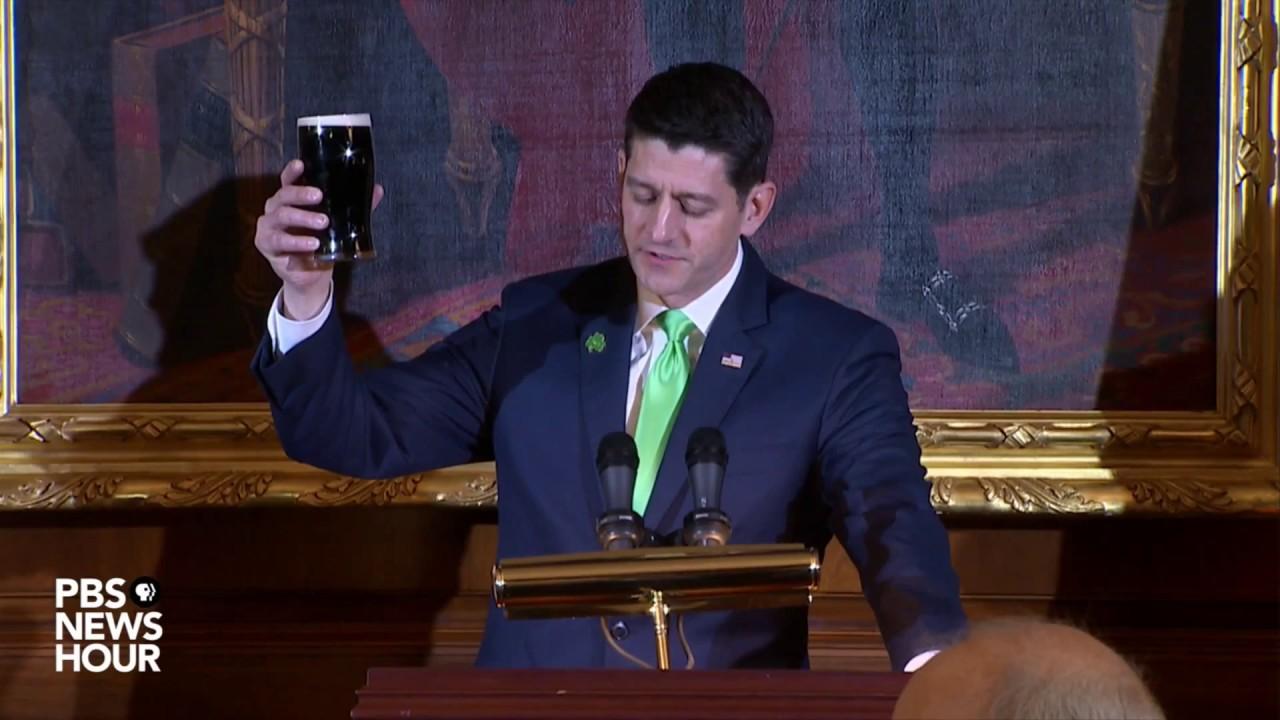 WATCH-President-Trump-and-Speaker-Ryan-host-Friends-of-Ireland-luncheon