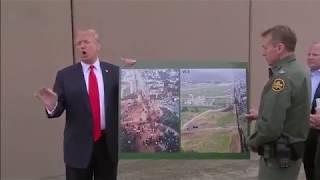President-Trump-visiting-at-the-US-Mexico-border-in-California