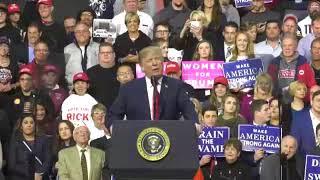 President-Trump-Holds-Rally-On-His-Meeting-With-Kim-Jong-Un