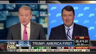 Discussing-President-Trumps-speech-at-Davos-on-Varney-Co.
