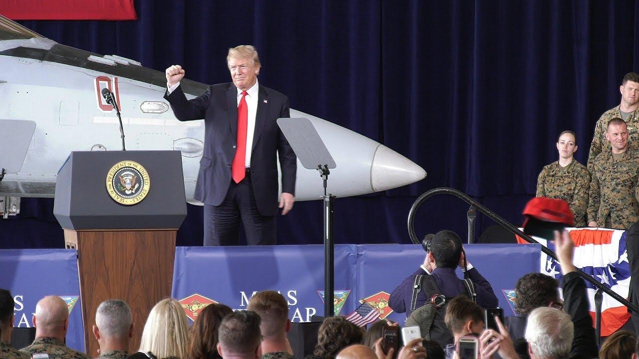 President-Trump-at-MCAS-Miramar-March-13-2018-Full-Version