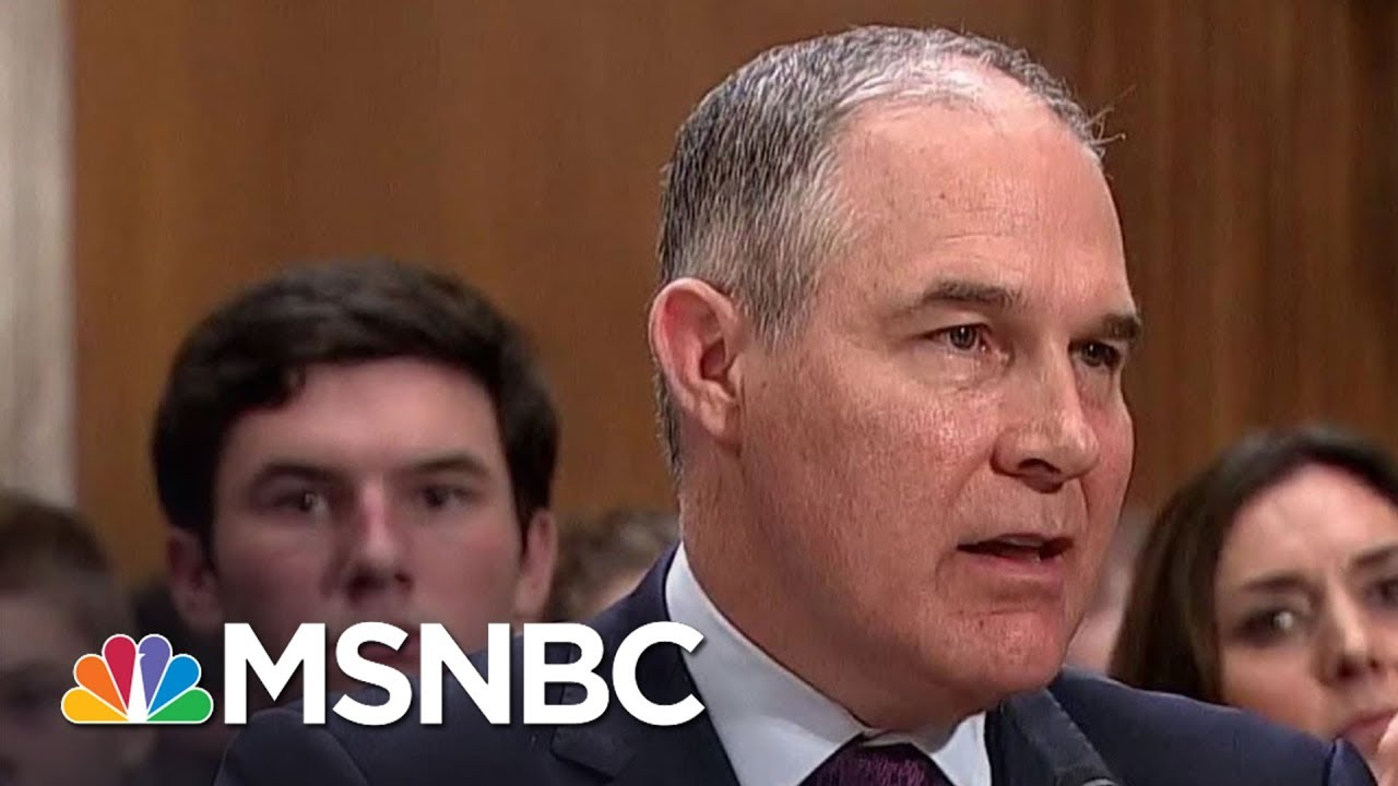 AP-Scott-Pruitt-Fighting-For-His-Job-In-Meeting-With-President-Donald-Trump
