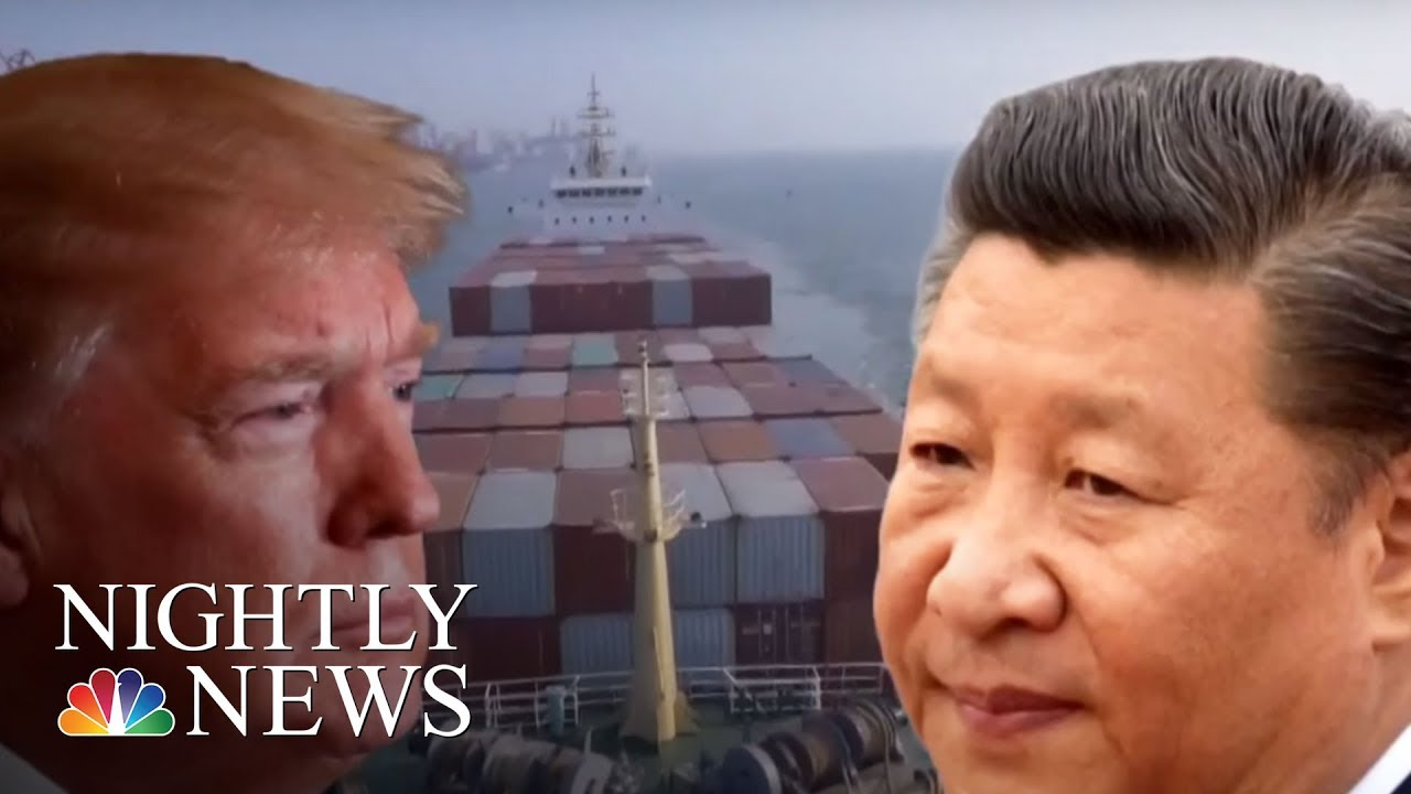 Fears-Of-Trade-War-After-President-Trump-Threatens-More-Tariffs-Against-China