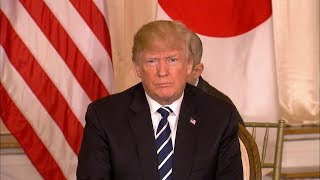 President-Donald-Trump-holds-joint-news-conference-with-Japanese-PM-Abe