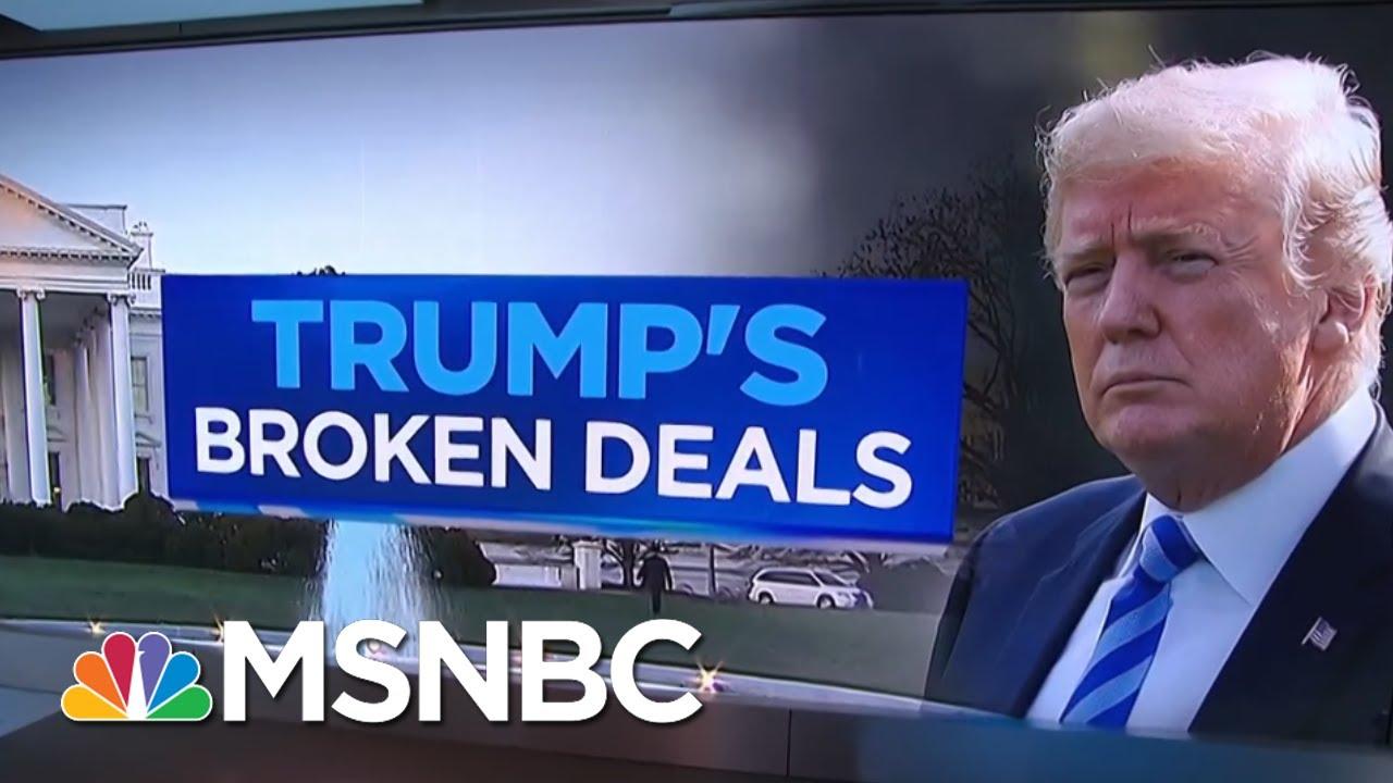 President-Donald-Trumps-Broken-Deals-Since-He-Took-Office