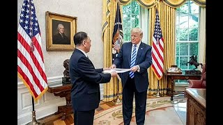 Kim-Jong-un-sends-a-letter-to-President-Trump