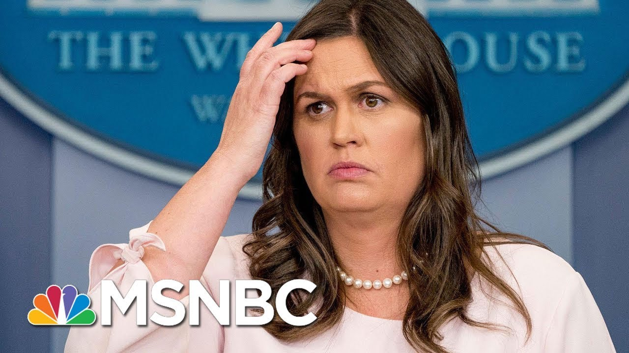 Is-President-Trump-Above-The-Law-Sarah-Sanders-Hammered-On-Pardon-Issue