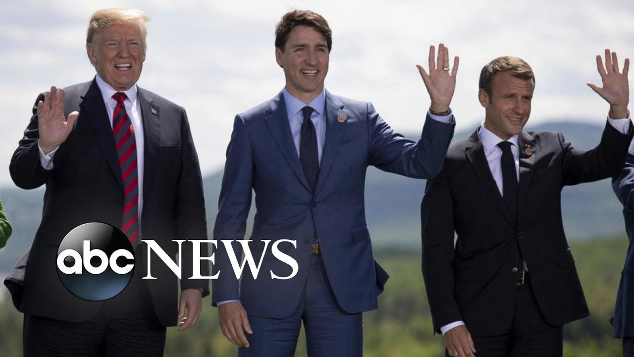 President-Trump-meets-with-world-leaders-at-G7-summit