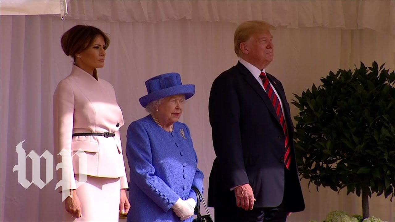 President-Trump-meets-Britains-queen