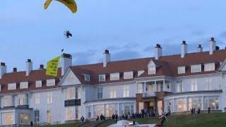 Protests-mar-President-Trumps-trip-to-Scotland
