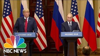 Special-Report-President-Trump-And-Vladimir-Putin-Meet-In-Helsinki-Finland