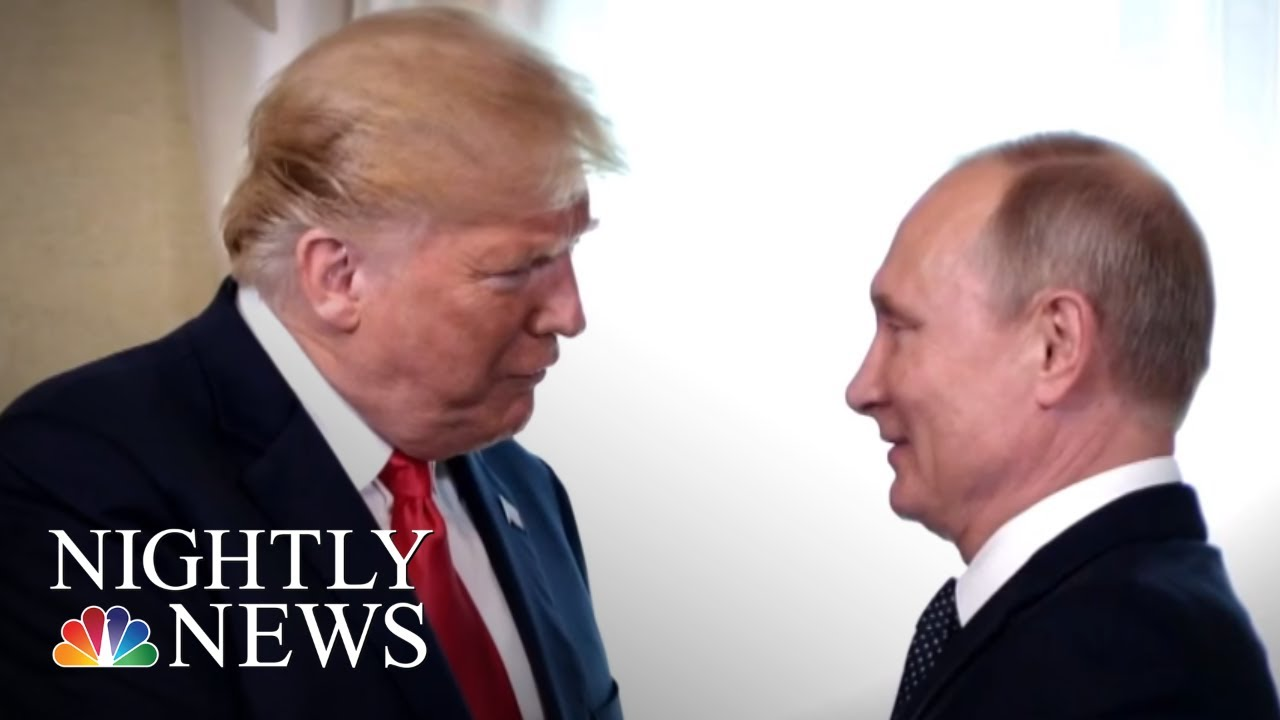 President-Donald-Trump-Invites-Vladimir-Putin-For-One-On-One-At-White-House