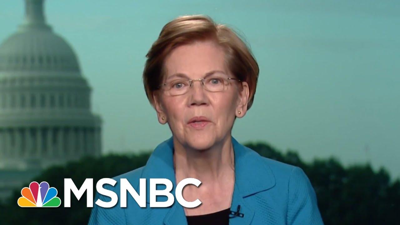 Senator-Elizabeth-Warren-President-Trump-WH-Most-Corrupt-In-Living-Memory