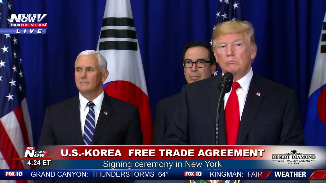 WATCH-President-Trump-Clinches-First-Trade-Deal-With-South-Korea