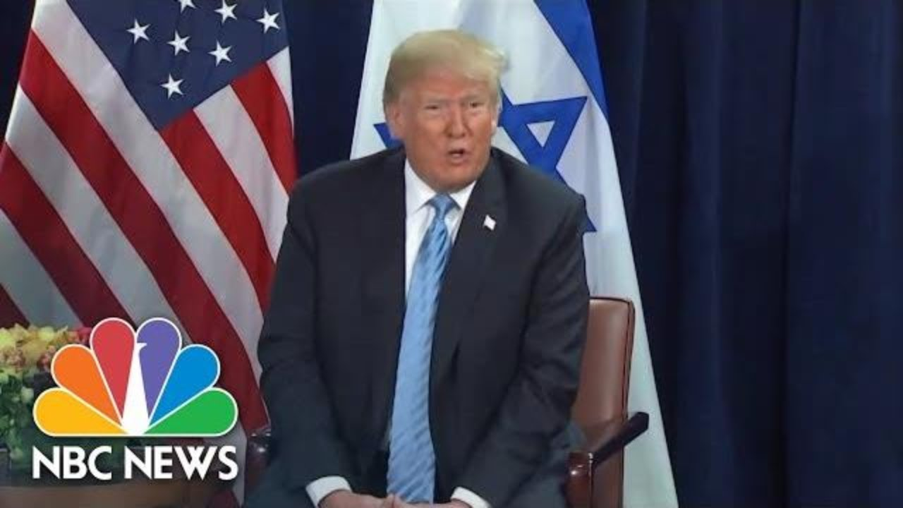 President-Donald-Trump-Says-He-Supports-An-Israel-Palestine-Two-State-Solution