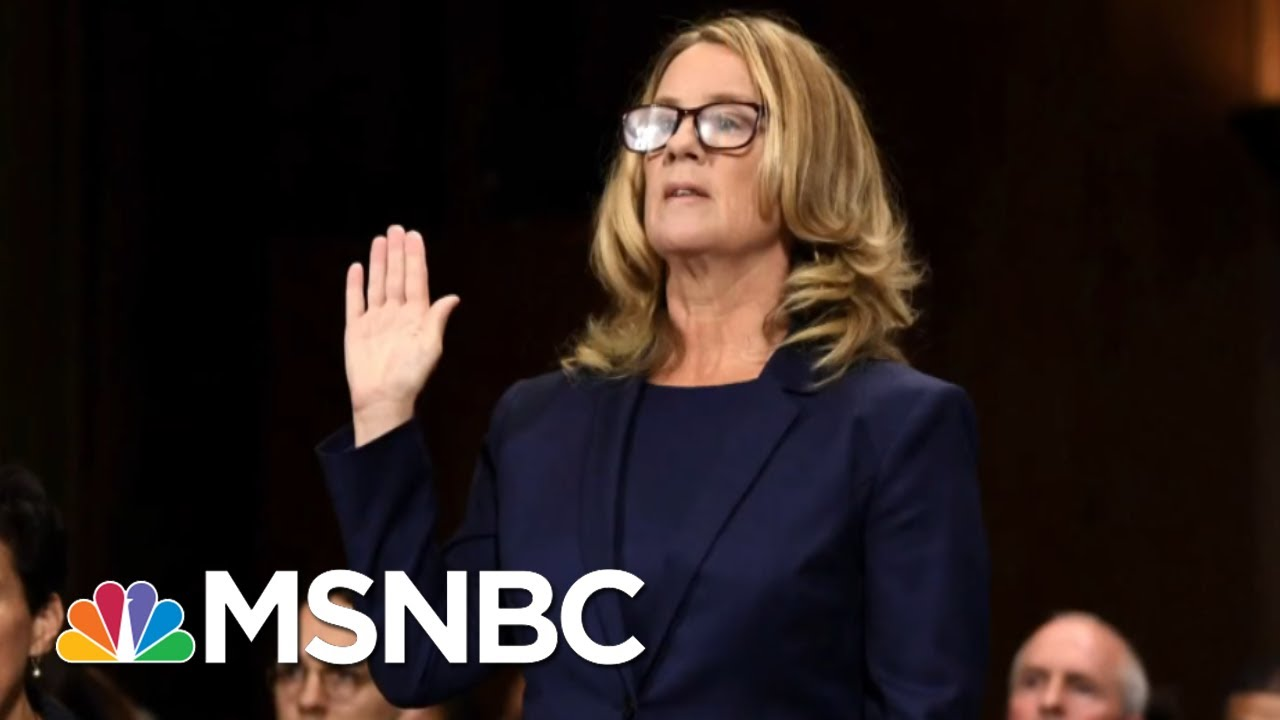 White-House-Defends-President-Donald-Trump-For-Mocking-Christine-Blasey-Ford