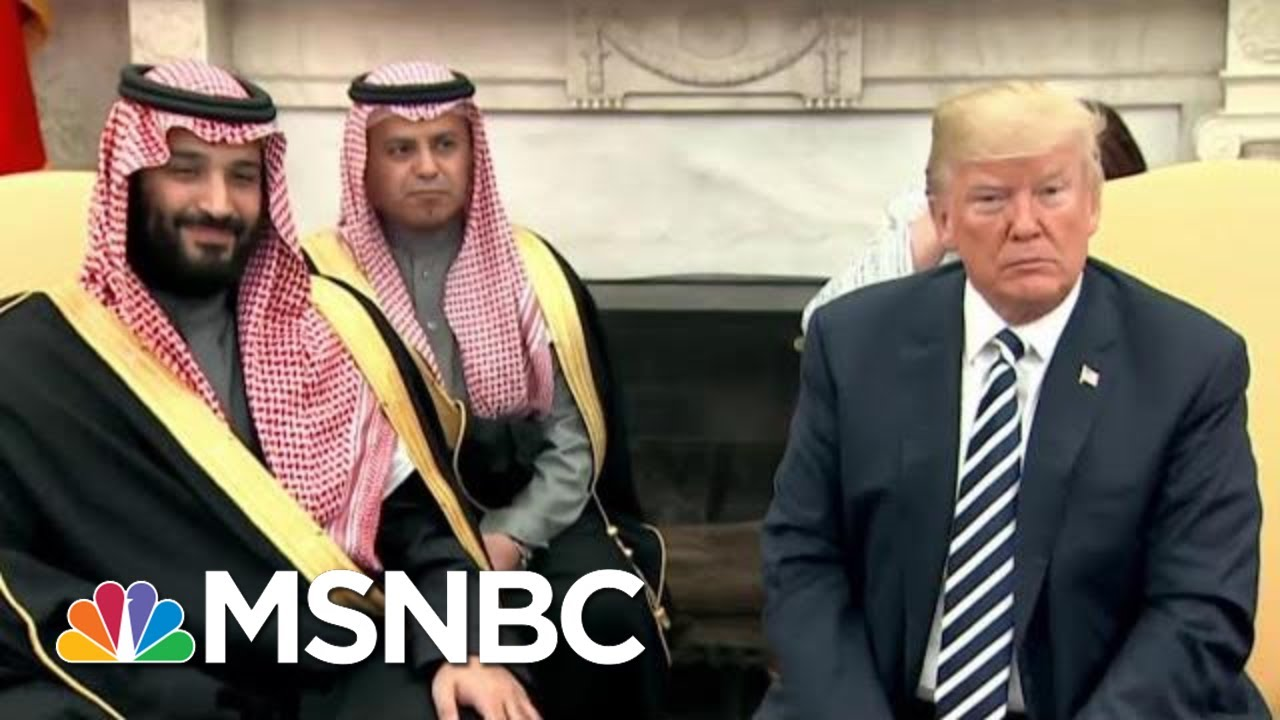 Representative-Eric-Swalwell-On-President-Donald-Trump-And-Saudi-Arabia