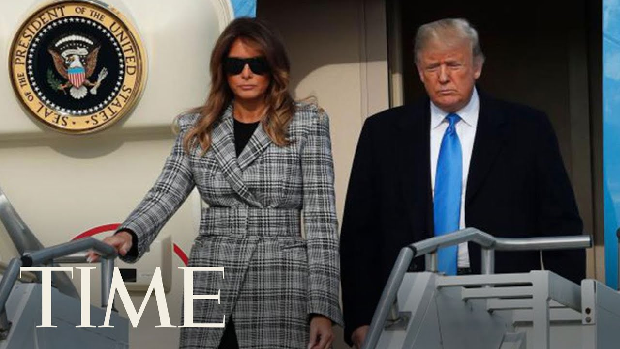 President-Trump-Arrives-In-Pittsburgh-To-Mixed-Feelings-After-Synagogue-Shooting