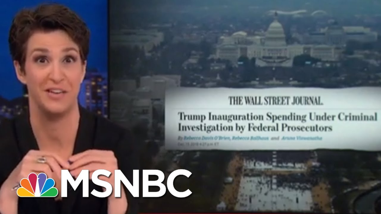 President-Trump-Inauguration-Finances-Under-Criminal-Investigation-WSJ