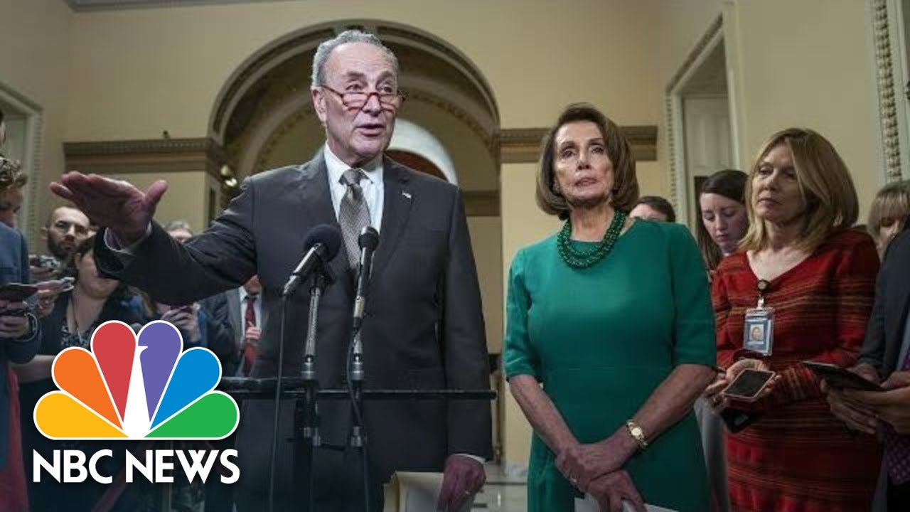 Chuck-Schumer-President-Donald-Trump-Plunging-The-Country-Into-Chaos