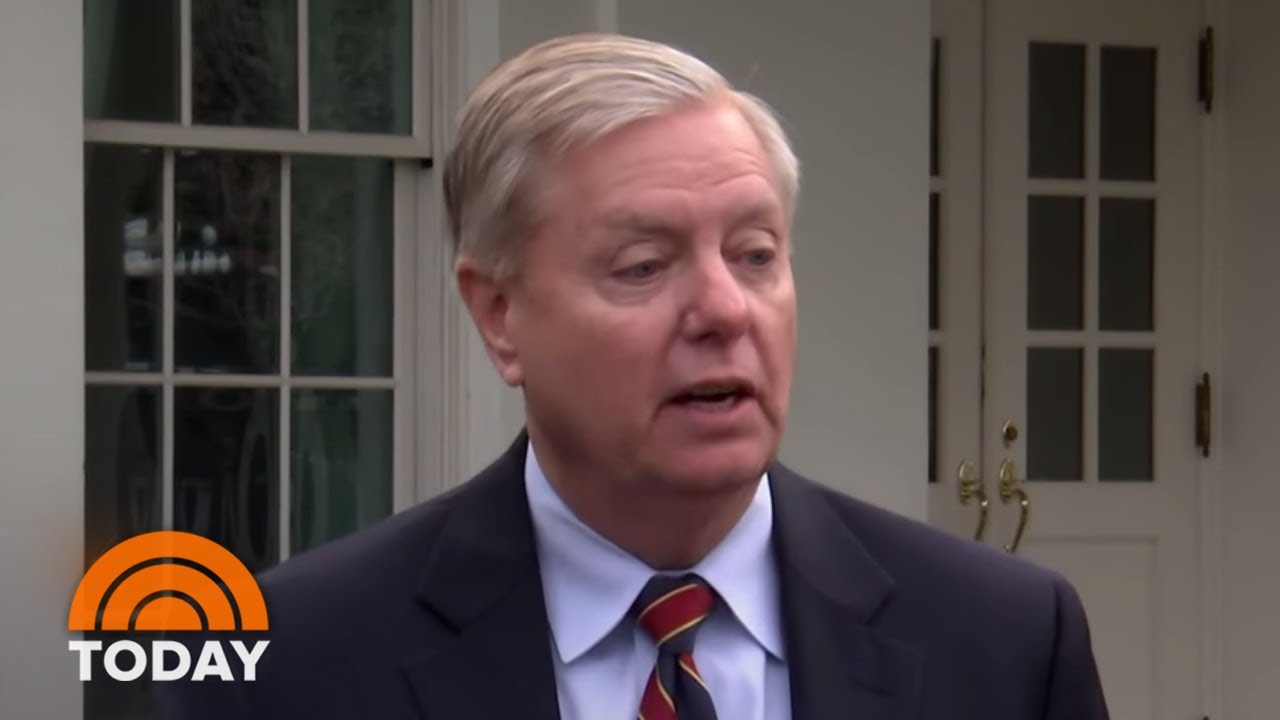 Senator-Lindsey-Graham-Signals-President-Donald-Trump-Could-Compromise-Over-Border-Wall
