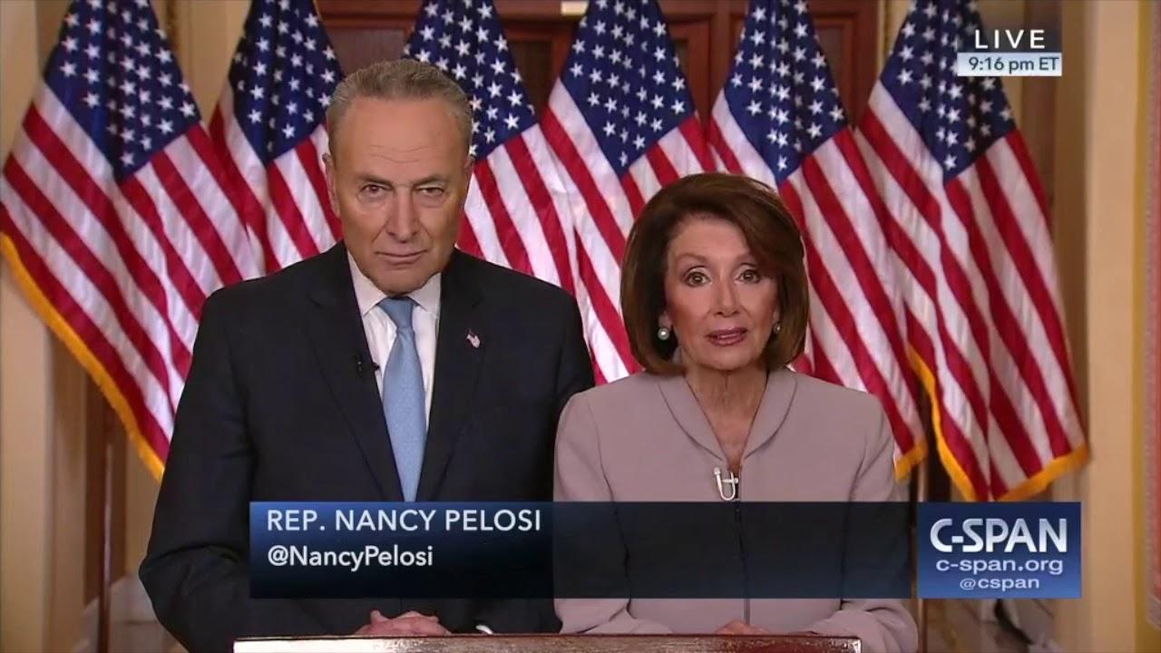 Speaker-Nancy-Pelosi-and-Senator-Chuck-Schumer-respond-to-President-Trump-C-SPAN