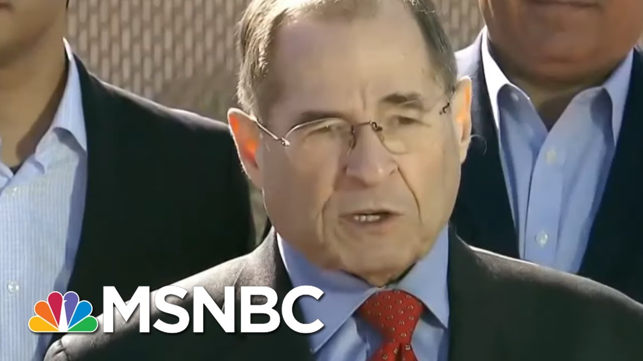 Rep.-Jerry-Nadler-President-Trump-Lying-To-Americans-About-National-Emergency