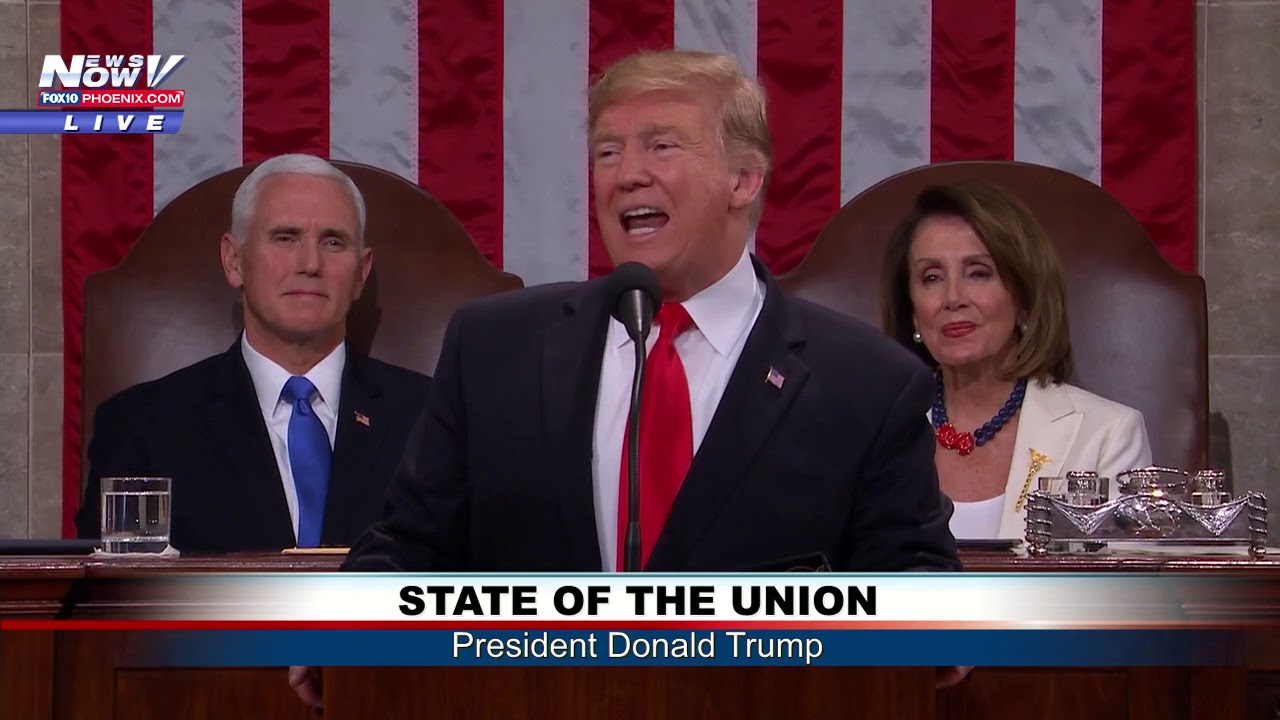 FULL-STATE-OF-THE-UNION-President-Trump-Addresses-Nation-from-House-Chamber-FNN