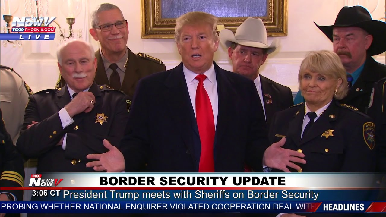SHERIFF-SUPPORT-President-Trump-Border-Security-Update