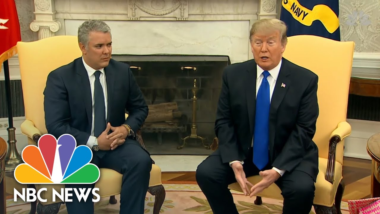 President-Donald-Trump-Slams-Venezuelas-Refusal-Of-Food-Humanitarian-Aid