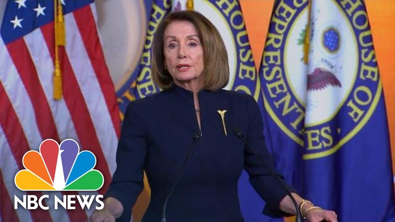 Nancy-Pelosi-President-Donald-Trump-Has-Declared-National-Emergency-On-An-Illusion