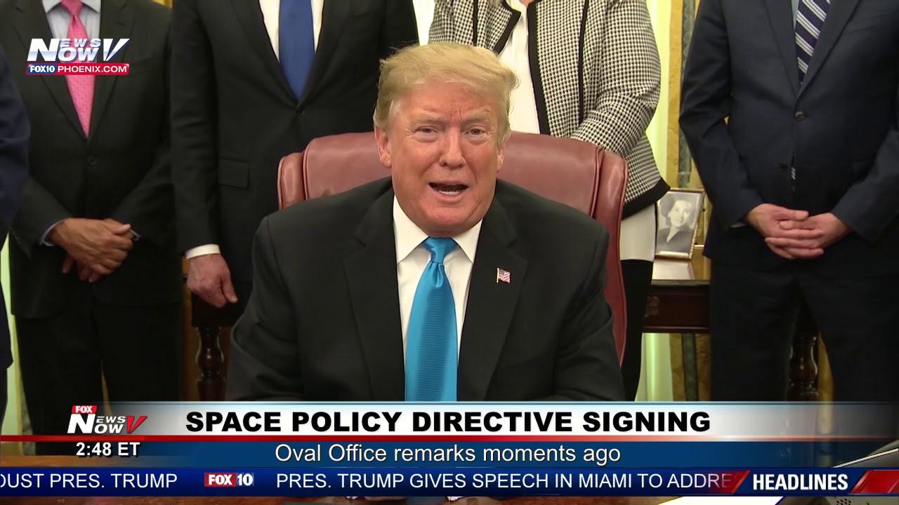 OVAL-OFFICE-REMARKS-President-Trump-on-Sanders-North-Korea-The-Wall-FNN