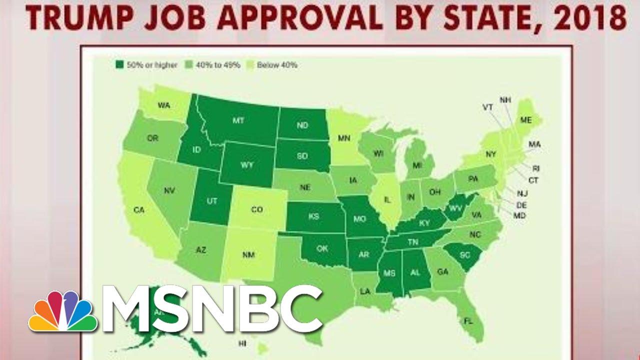 President-Donald-Trump-Scores-Under-40-Percent-In-16-States-Gallup