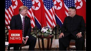 Donald-Trump-and-Kim-Jong-un-meet-in-Vietnam-BBC-News