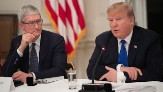 President-Trump-calls-Apple-CEO-Cook-Tim-Apple