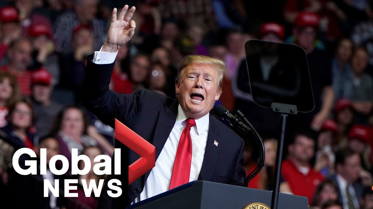 Highlights-from-U.S.-President-Donald-Trumps-2020-rally-in-Michigan