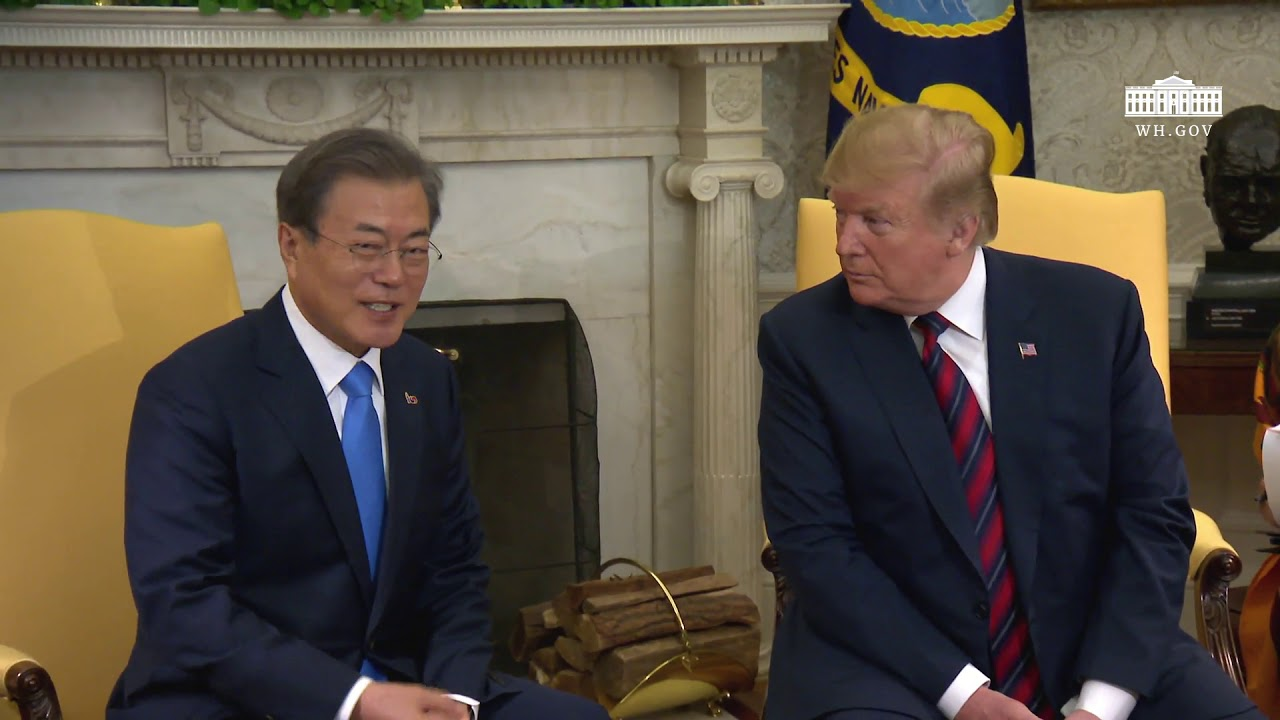 President-Trump-Meets-with-the-President-of-the-Republic-of-Korea