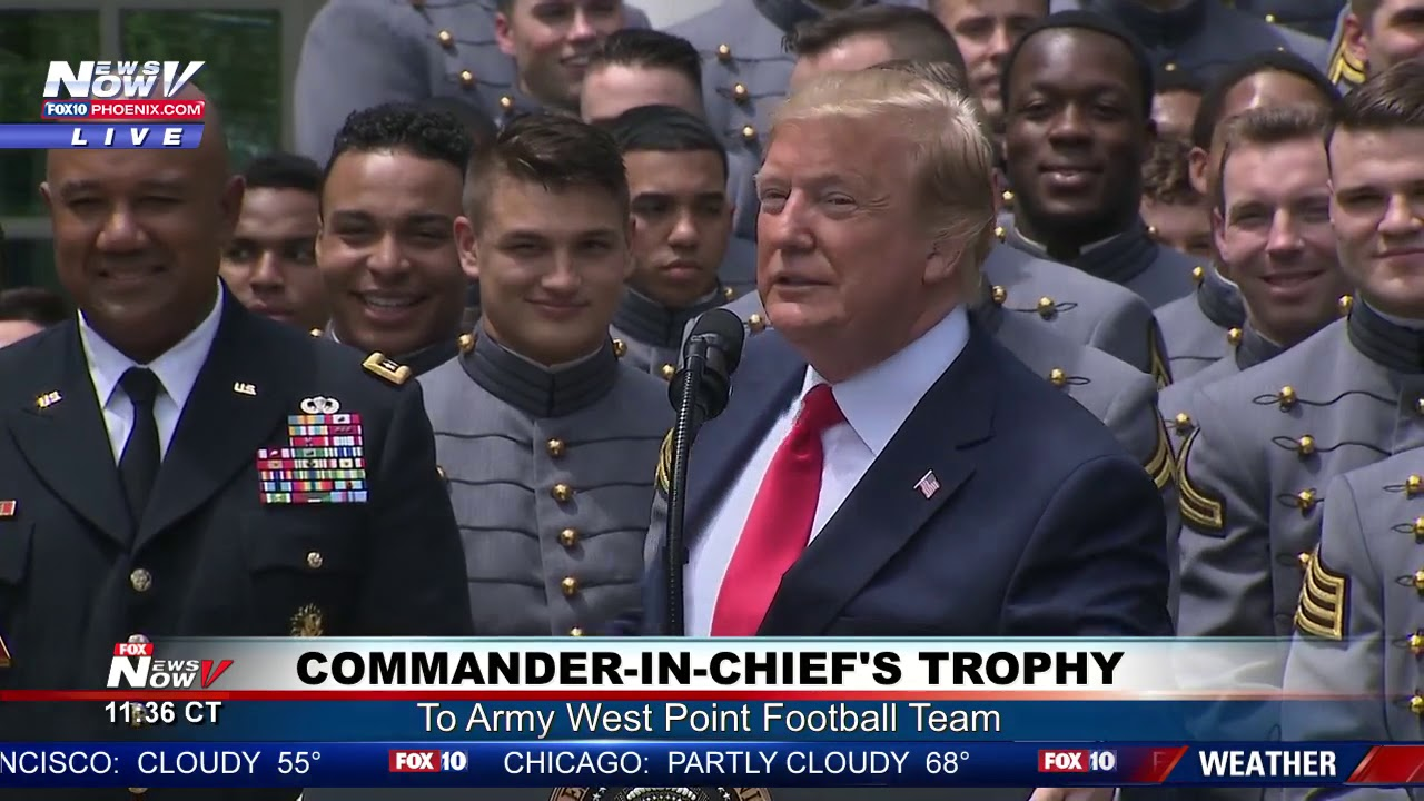 COMMANDER-IN-CHIEFS-TROPHY-President-Trump-Awards-U.S.-Military-Academy-Football-Team