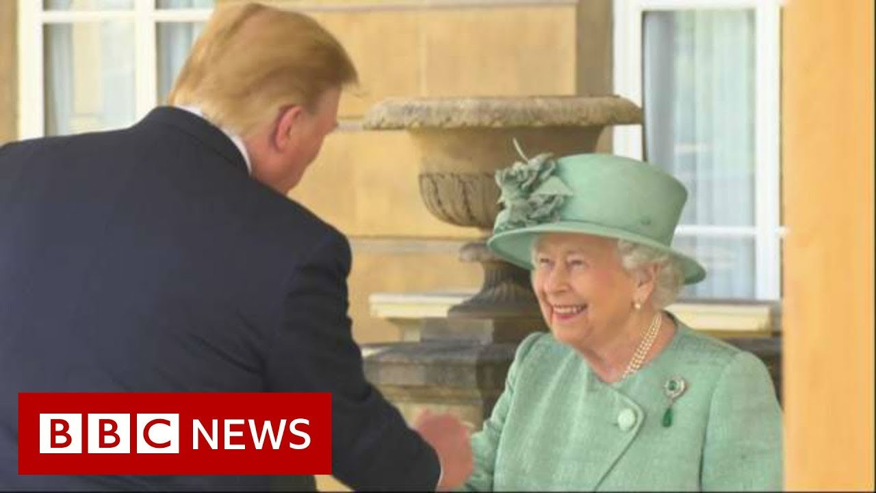 Trump-meets-the-Queen-at-Buckingham-Palace-BBC-News