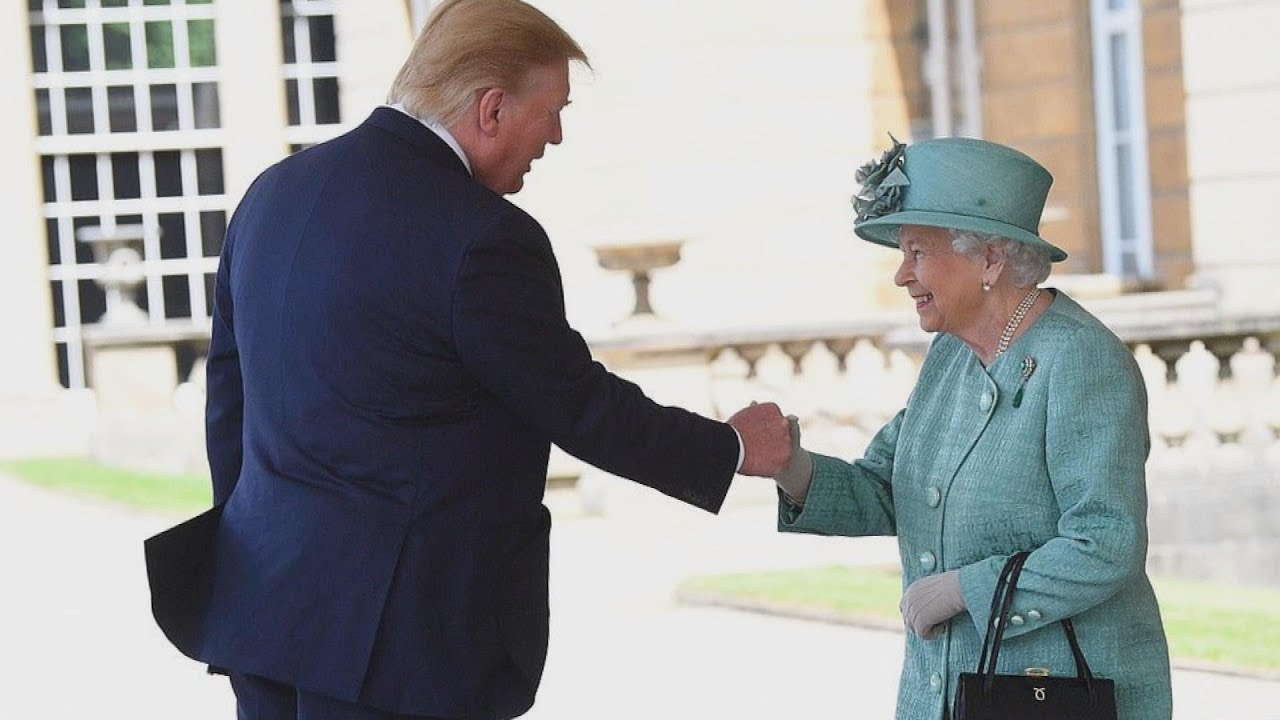 What-Did-Queen-Elizabeth-Say-to-President-Trump