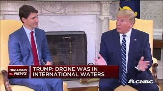 President-Trump-makes-remarks-on-possible-Iran-US-drone-strike