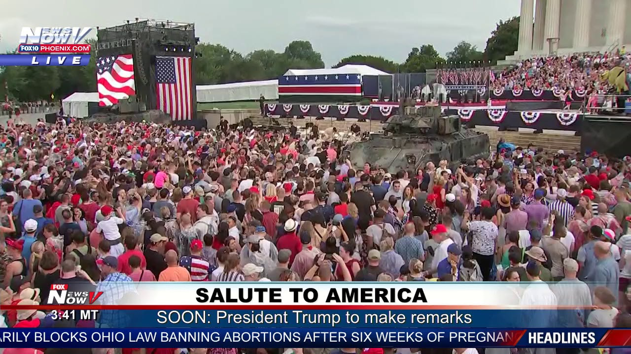 HUGE-CROWDS-Thousands-Come-For-President-Trumps-Salute-To-America
