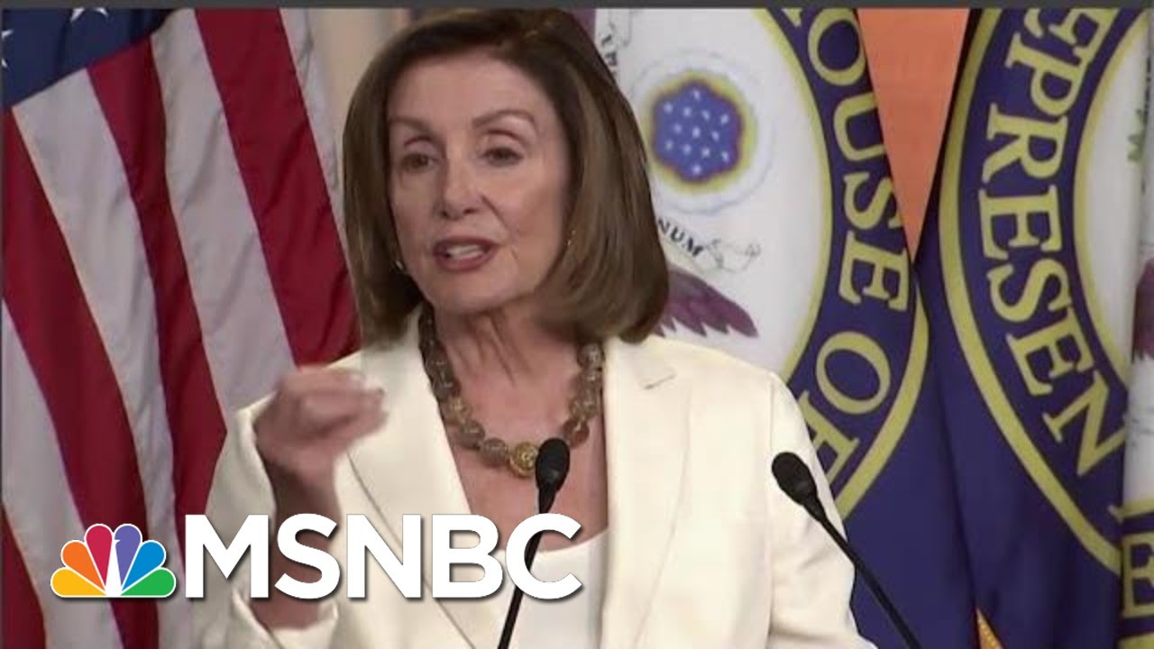 After-Racist-President-Donald-Trump-Attack-Nancy-Pelosi-Pushes-Policy