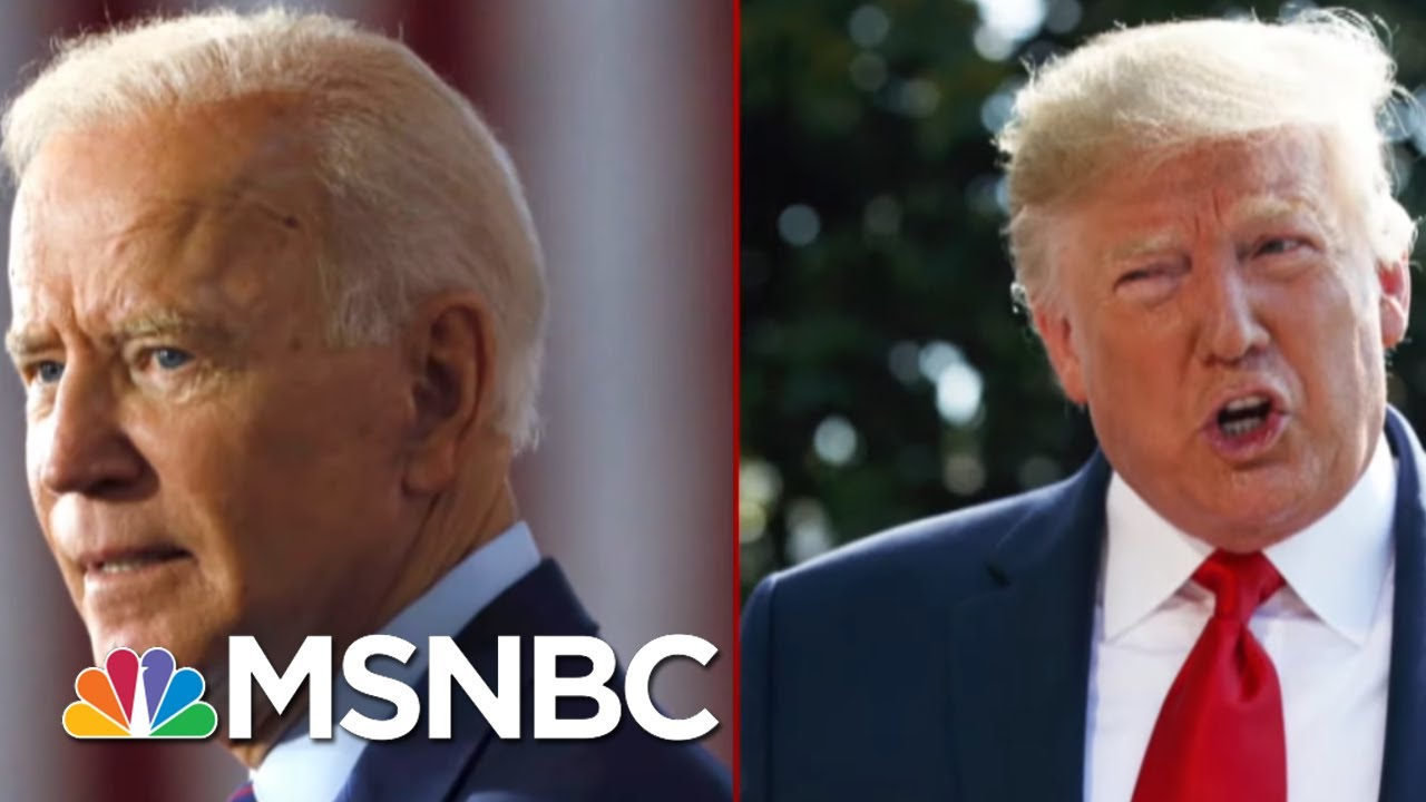 2020-Match-Up-President-Donald-Trump-Vs.-Democrats
